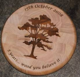 Personalised Chopping Block gift