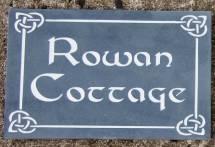 Celtic Slate House Sign