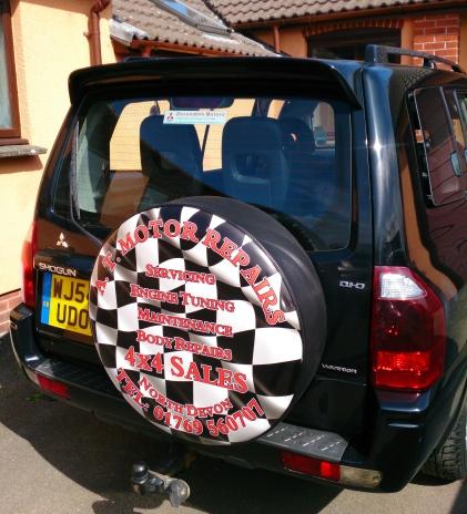 Full Colour Semi Rigid Wheel Cover