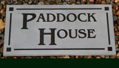 Granite House Sign with border