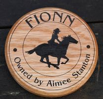Stable name plate gift