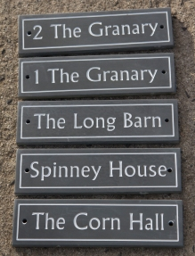 12mm Slate with line border