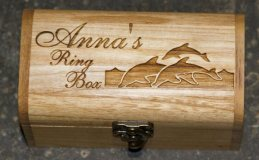 Personalised Wooden chests gifts
