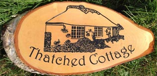 Large wooden Rustic House Sign