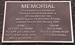 Cast Bronze Memorial