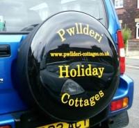 Cut Vinyl Wheel Cover