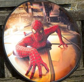Full Wrap Spiderman Wheel Cover