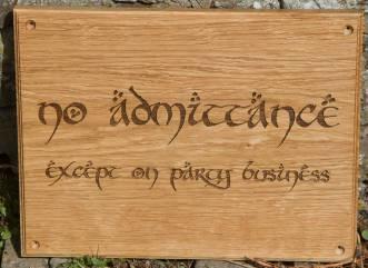 Oak Sign elegant - http://www.sign-maker.net/wooden/elegant-timber-signs.htm