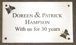 Small plaque 125 x 75mm. Ancana-R. Ref - 1310.se.053