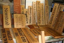 wooden-house-signs