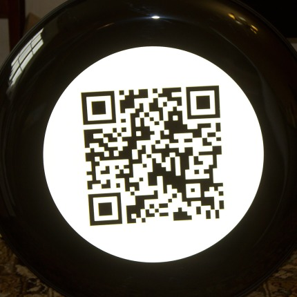 Full print Semi Rigid QR code Wheel Cover