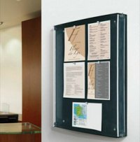 frameless-notice-board