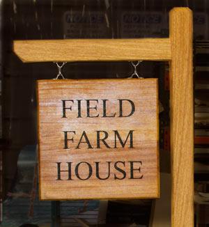 Iroko wood sign with fixing kit D http://www.sign-maker.net/wooden/iroko.htm
