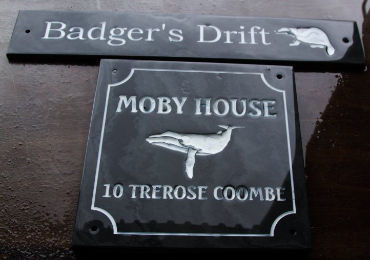 Have a look at our slate signage