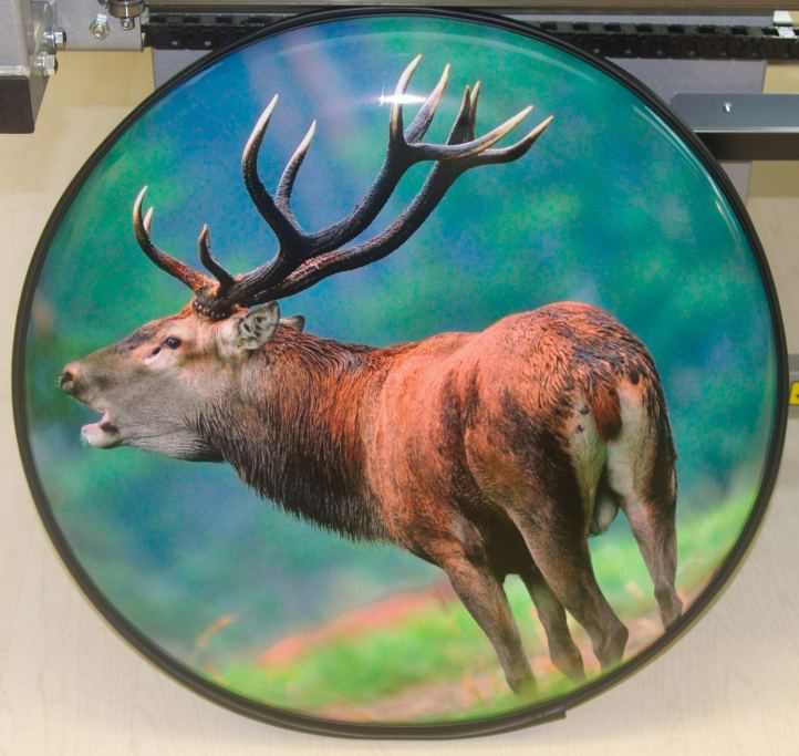 Stag Wheel Cover