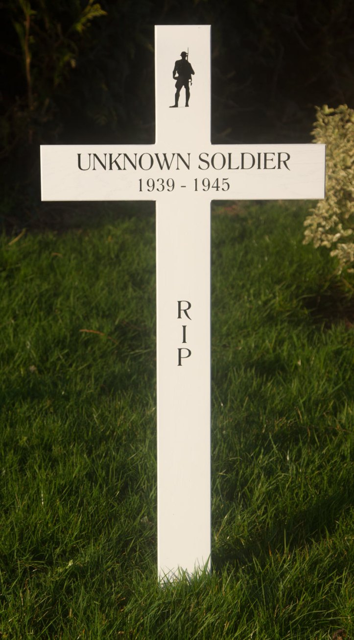 White Memorial Cross