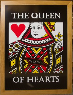 Wooden Framed Pub Sign