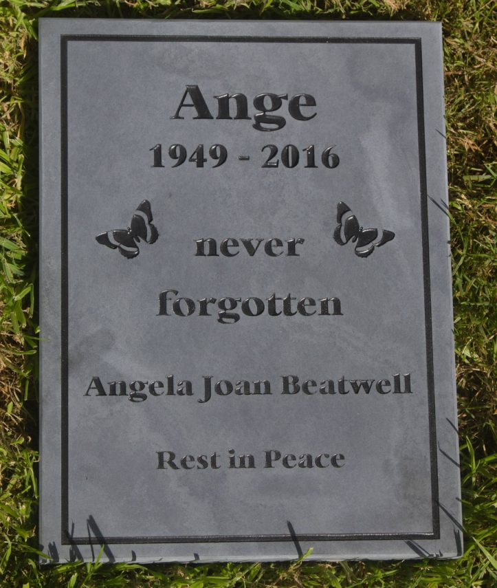 Slate Memorial Tablet