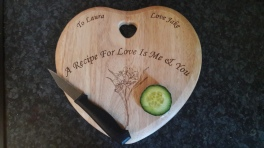 Personalised Chopping board gift