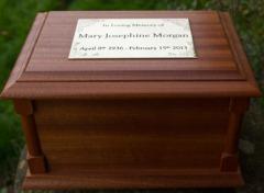 mahogany-casket