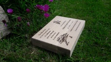 Wooden Memorial Plinth