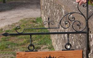 Medieval Hanging Bracket - https://www.sign-maker.co.uk/hanging-signage-and-brackets-105-c.asp