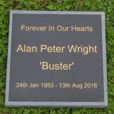 Slate Lawn Memorial Grave Marker