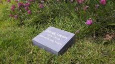 Slate Memorial Wedge