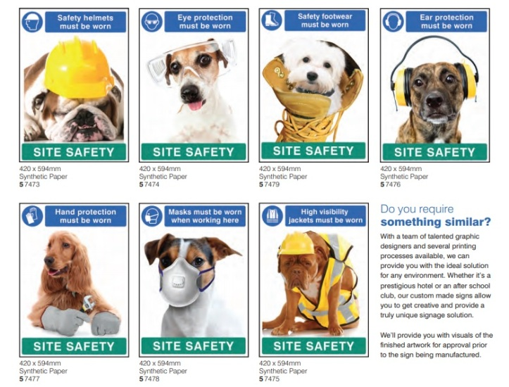 PPE Posters - Site Safety -