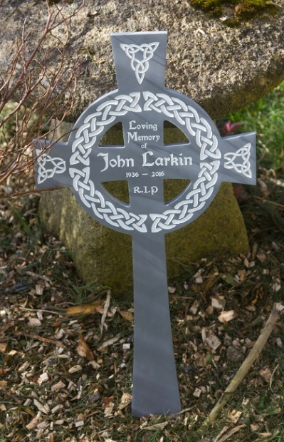 Celtic Corian Memorial Cross