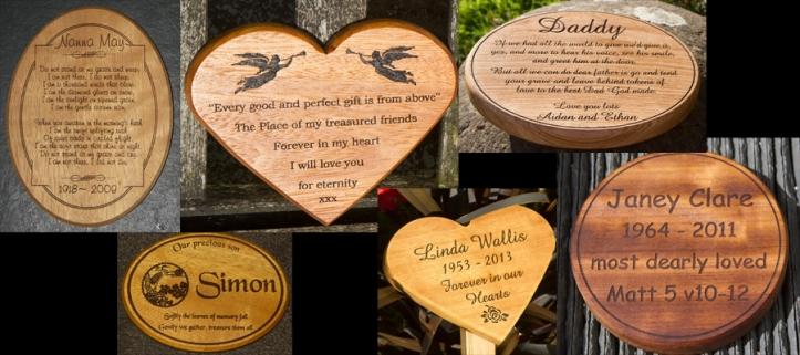 shaped wooden memorials.jpg