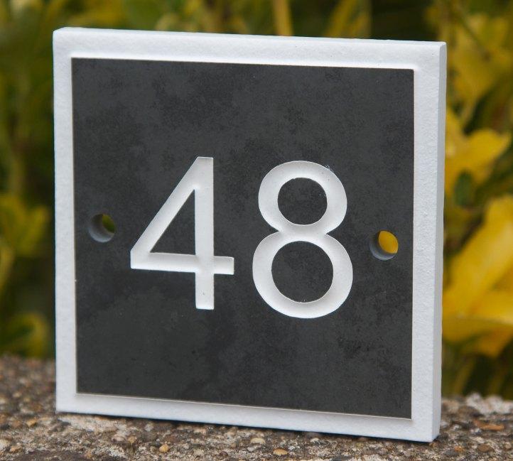 slate-house-number
